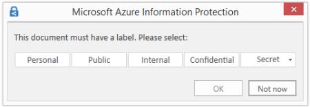 AzureInfoProtClassLabels