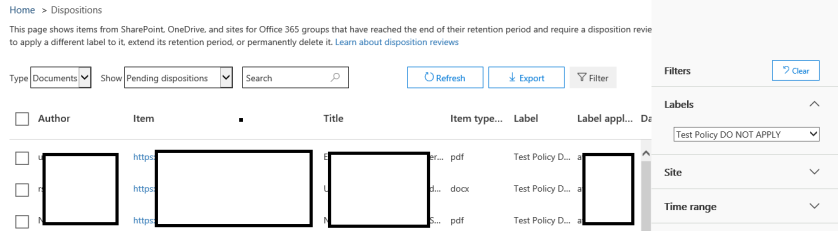 O365_Dispositions_DocListing